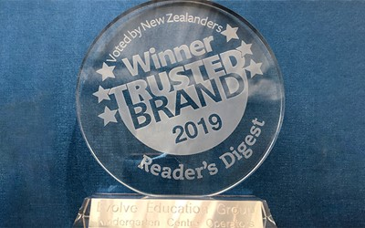 Evolve most trusted brand winner for childcare